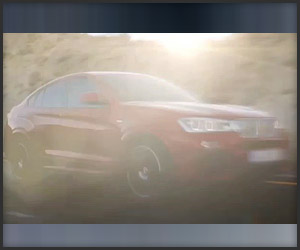 BMW X4 Teased, Barely Visible in Instagram Video