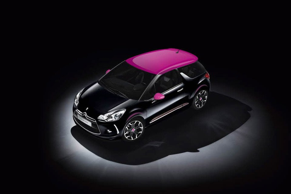 Limited Edition Citroën DS3 Dark Rose
