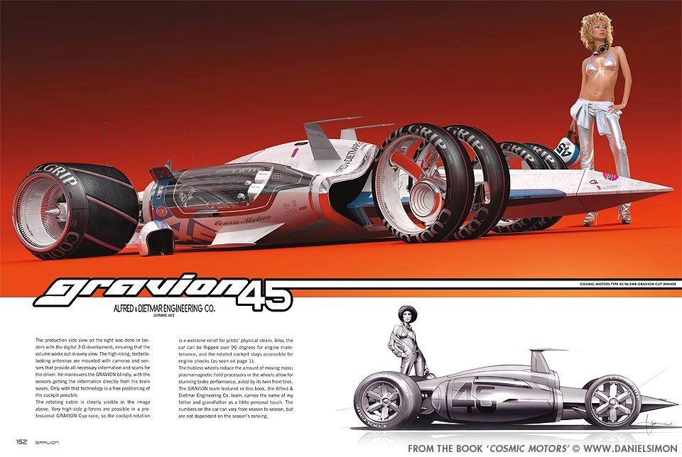 Daniel Simon's Incredible Vehicles from the Future