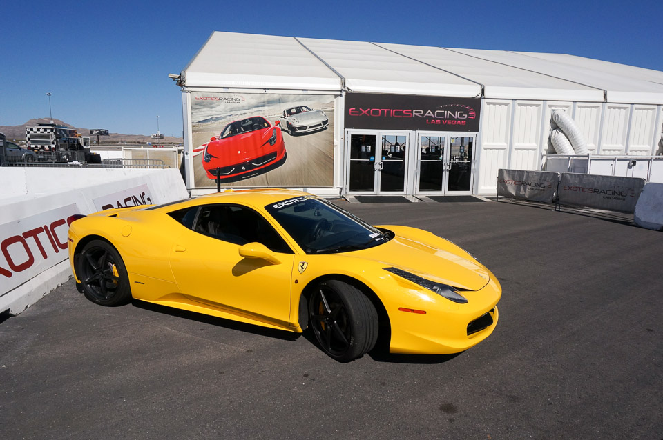 Review Exotics Racing Las Vegas On Track Driving 95 Octane