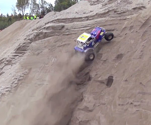 Formula Offroad Hill Climbing in Norway