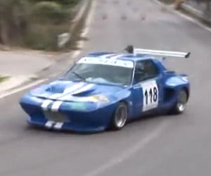 Amazing Hill Climb in a Fiat X1/9