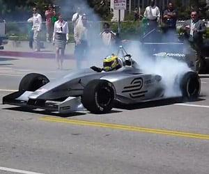 Formula E Burnout