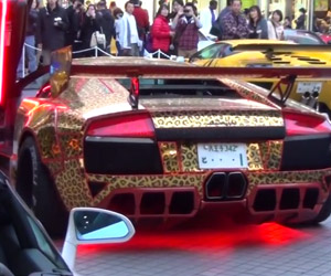 Eight Minutes of Insane Japanese Lamborghinis