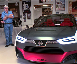 Jay Leno Drives the Nissan IDx NISMO Concept