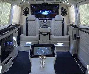 The Fanciest Van Ever Made