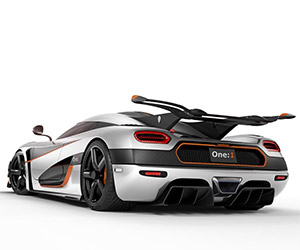 Koenigsegg One:1 The Megacar is Unveiled