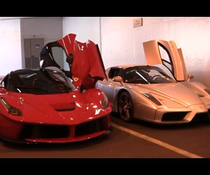 Rev Battle: LaFerrari vs Ferrari Enzo