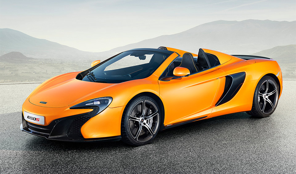 McLaren 650S Spider Drops its Top in Geneva