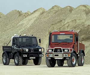 History of the Mercedes-Benz Unimog