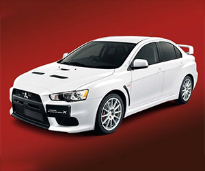 Mitsubishi Evo X Back for Its 40th Anniversary