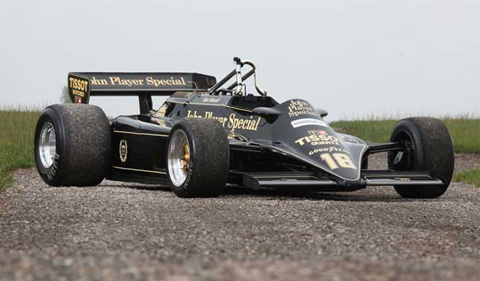 Nigel Mansell's 1981 Lotus 87 for Sale