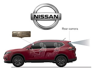 Nissan Smart Rearview Mirror