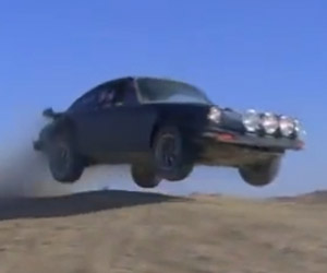 Porsche 911 Goes Off-Road