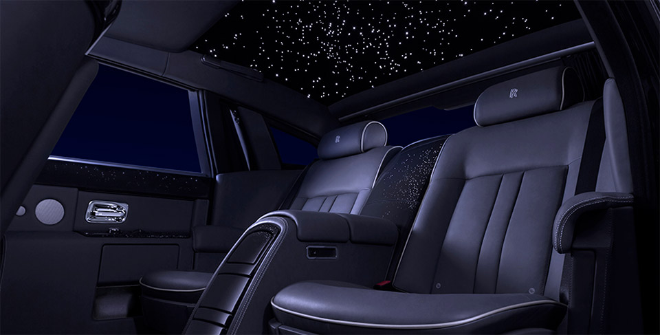 Rolls-Royce Celestial Phantom: It's Full of Stars