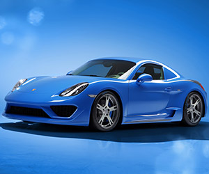Moncenisio Coach-Built Porsche Cayman S