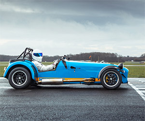 The Stig Takes a Lap in the Caterham 620R