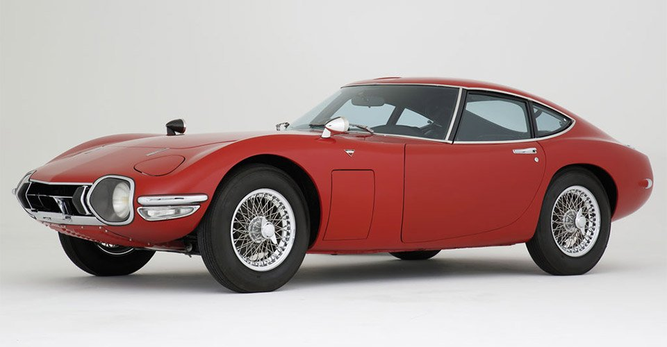 Rare Red Toyota 2000GT up for Sale