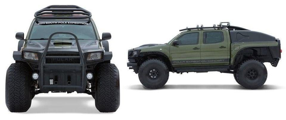 toyota tacoma polar expedition truck for sale 95 octane. Black Bedroom Furniture Sets. Home Design Ideas