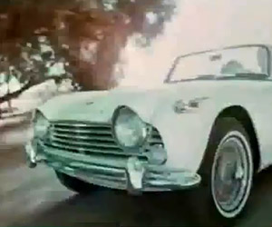 From the Vaults: Triumph TR4A Commercial