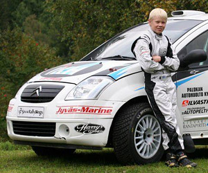 13 Year-Old Rally Driver Can Outdrive You