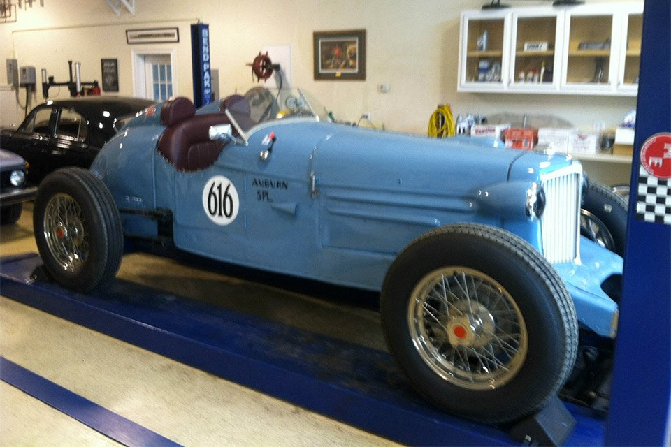 Vintage 1932 Auburn Speedster Racer for Auction