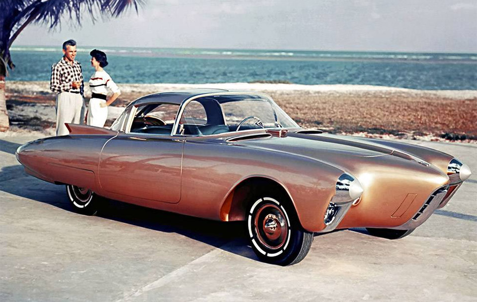 Concepts from Future Past: 1956 Olds Golden Rocket