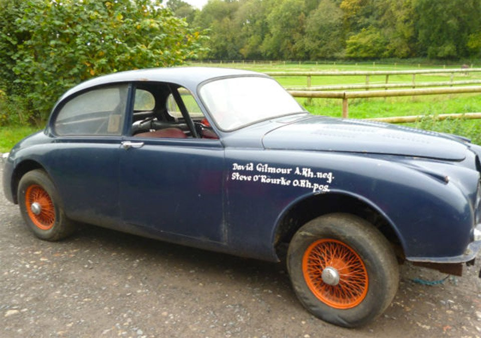 Own a Jaguar Driven by Pink Floyd's David Gilmour