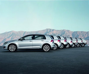 40 Years of the Volkswagen Golf
