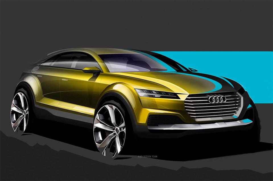 Audi Teases New Q4 Before Beijing Debut