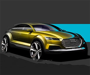 Audi Teases New Q4 Before Beijing Debut