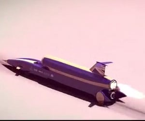 How Do You Stop a 1,000 MPH Car?