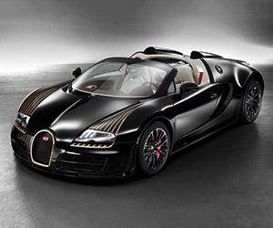 Bugatti Grand Sport Vitesse Veyron Black Bess Edition