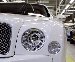 Building a Bentley Mulsanne