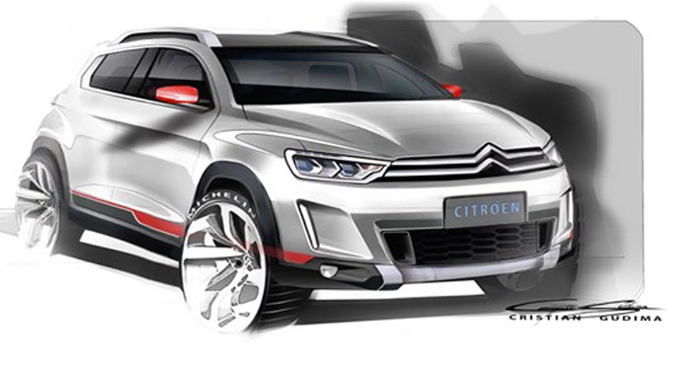 Citroen's Compact SUV Concept to Debut in Beijing