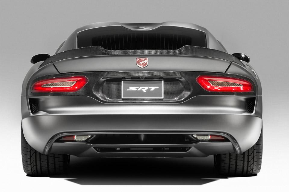 2003-2010 Dodge Viper SRT Convertible Rear Spoiler in ... |Viper With Spoiler
