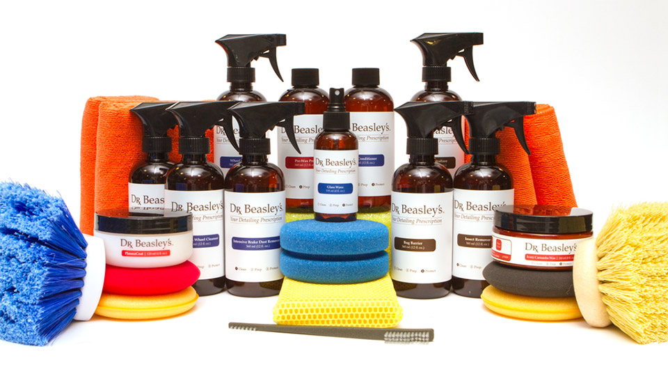 Win 300 of dr beasley 39 s premium car care products 95 for Mercedes benz car care kit
