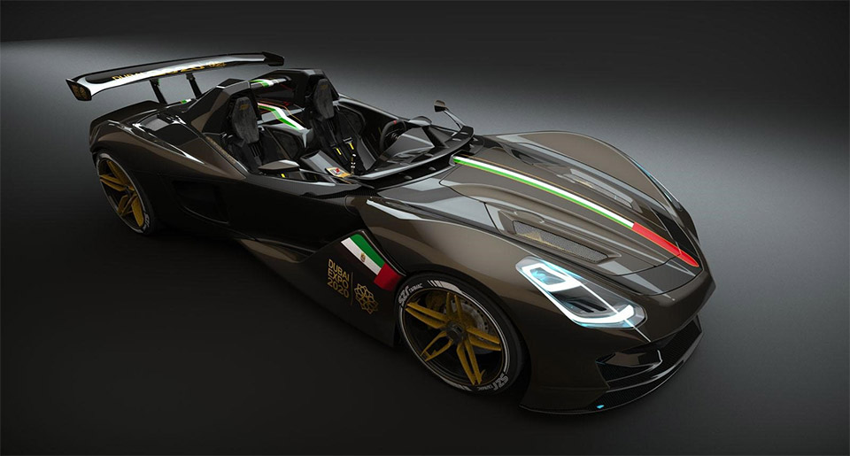 Mysterious Dubai Roadster Surfaces
