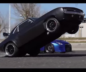 Fast & Furious Car Chase Tribute Done with R/C Cars