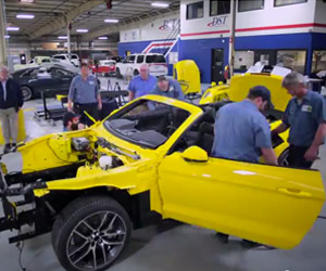 Ford Chops up a 2015 Mustang