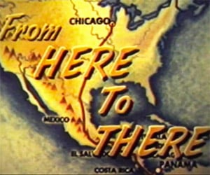 From Here to There: Corvairs Drive to Panama