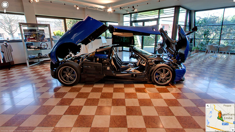 Tour The Pagani Factory In Google Street View Octane