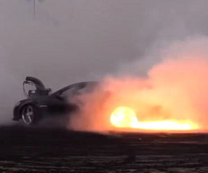 The Hottest Burnout You'll See Today