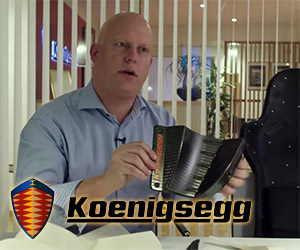 Koenigsegg One:1 3D Printed Components