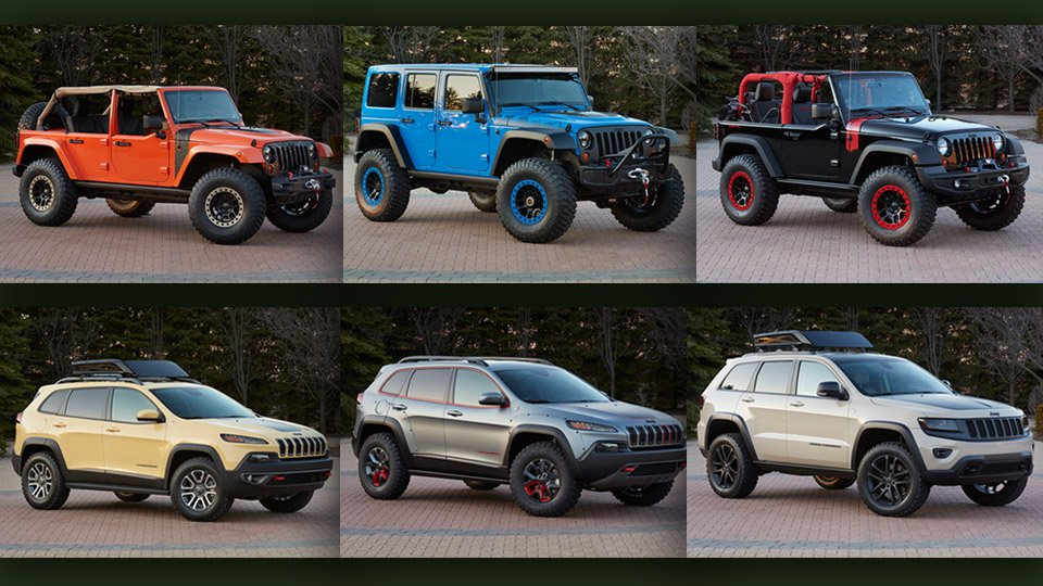 Jeep Reveals Six New Concept Vehicles for Moab - 95 Octane