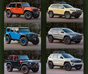 Jeep Reveals Six New Concept Vehicles for Moab