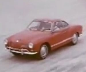 From the Vaults: Hilarious Karmann Ghia Commercial