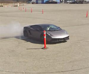 Lamborghini Gallardo Hoons Gymkhana Style