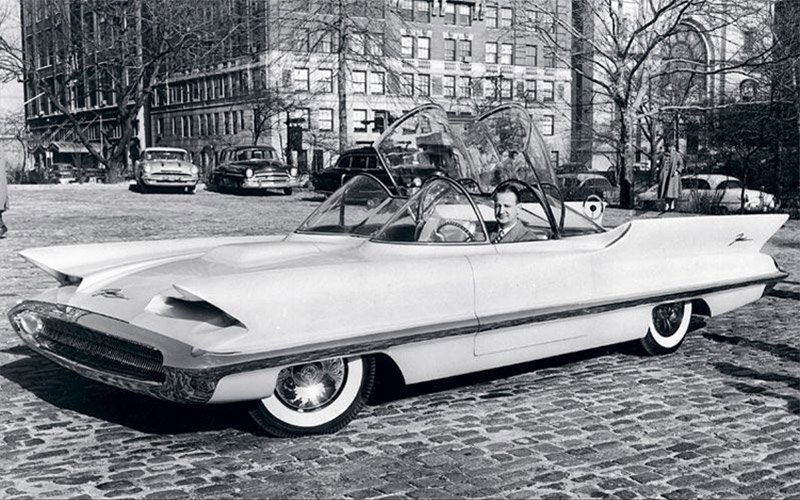 Concepts From Future Past 1955 Lincoln Futura 95 Octane