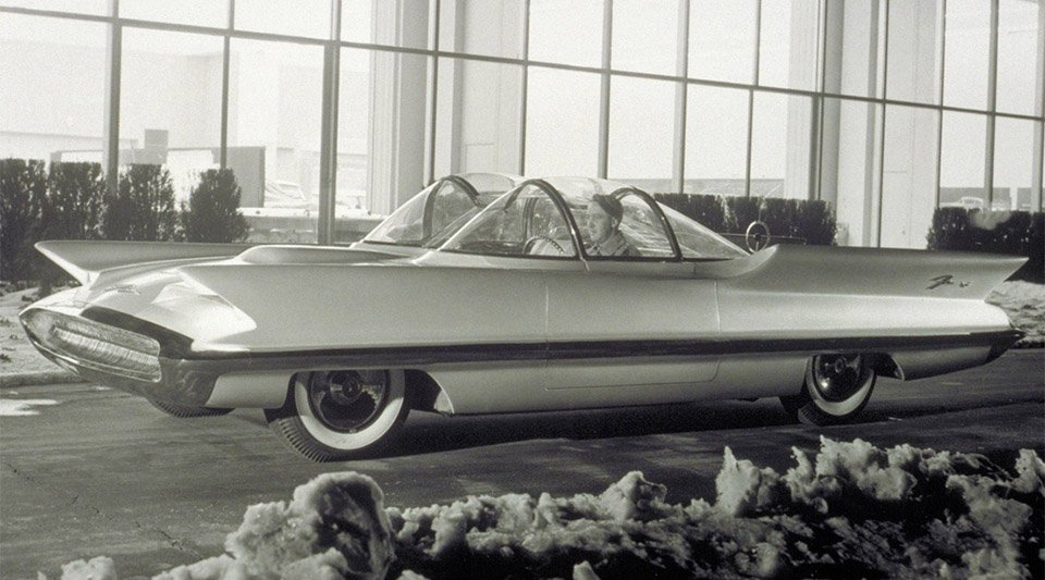 Concepts from Future Past: 1955 Lincoln Futura
